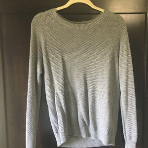 Grey sweater.  Size Medium.